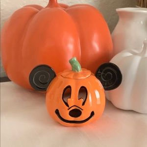 Disney 🧡🍂🧡MICKEY PUMPKIN Tealight🧡🍂🧡